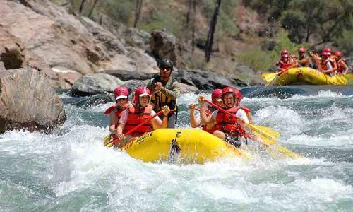 Yosemite Rafting